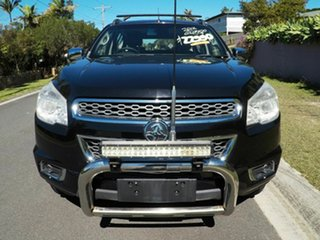 2012 Holden Colorado 7 LTZ Black 6 Speed Auto Active Select Wagon.