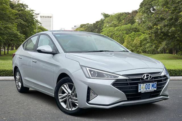 Demo Hyundai Elantra AD.2 MY19 Active, 2018 Hyundai Elantra AD.2 MY19 Active Platinum Silver 6 Speed Sports Automatic Sedan