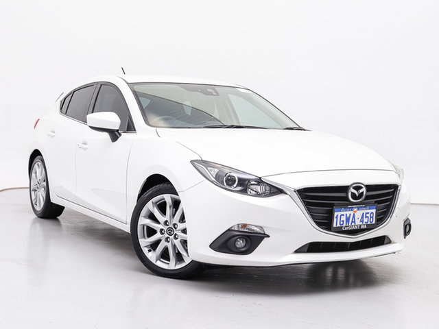 Used Mazda 3 BL Series 2 MY13 SP25, 2014 Mazda 3 BL Series 2 MY13 SP25 White 5 Speed Automatic Hatchback