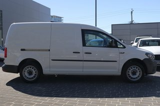 2020 Volkswagen Caddy 2KN MY20 TSI220 Maxi DSG Urban Edition Candy White 7 Speed.
