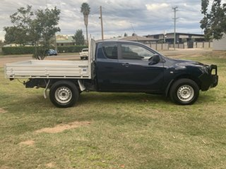 2017 Mazda BT-50 UR0YG1 XT Deep Crystal Blue 6 Speed Sports Automatic Cab Chassis