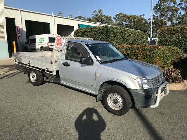 Used Holden Rodeo RA MY05 DX 4x2, 2005 Holden Rodeo RA MY05 DX 4x2 Silver 5 speed Manual Cab Chassis