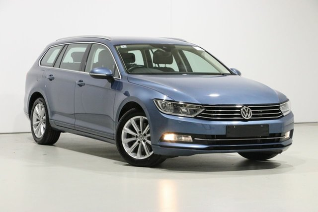 Used Volkswagen Passat 3C MY18 132 TSI Comfortline, 2018 Volkswagen Passat 3C MY18 132 TSI Comfortline Harvard Blue 7 Speed Auto Direct Shift Wagon