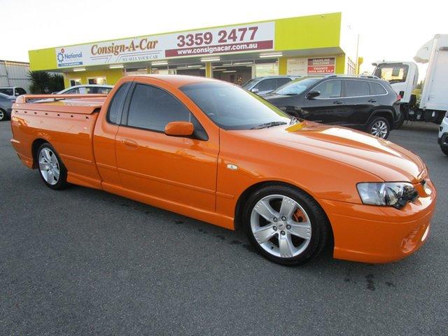 Used Ford Falcon BF Mk II XR8 Ute Super Cab, 2007 Ford Falcon BF Mk II XR8 Ute Super Cab Orange 6 Speed Manual Utility