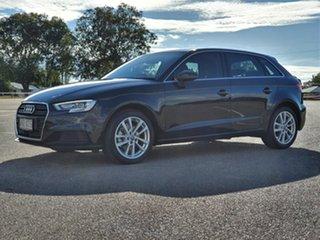 2016 Audi A3 8V MY17 Sportback S Tronic Black 7 Speed Sports Automatic Dual Clutch Hatchback