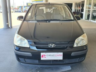 2004 Hyundai Getz TB MY04 GL Black 5 Speed Manual Hatchback