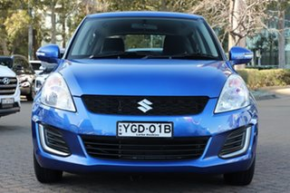 2016 Suzuki Swift FZ GL Blue 5 Speed Manual Hatchback