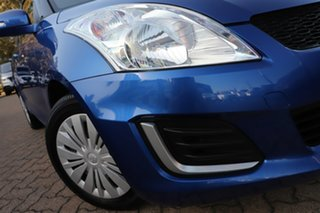 2016 Suzuki Swift FZ GL Blue 5 Speed Manual Hatchback.