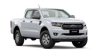2021 Ford Ranger PX MkIII 2021.25MY XLS Arctic White 6 Speed Manual Double Cab Pick Up