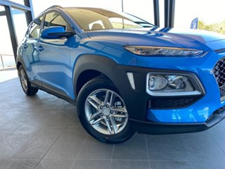 2020 Hyundai Kona OS.3 MY20 Active 2WD Blue 6 Speed Sports Automatic Wagon
