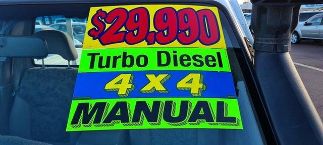 Used Nissan Patrol GU II DX East Bunbury, 2006 Nissan Patrol GU II DX White 5 Speed Manual Cab Chassis