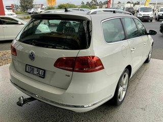 2014 Volkswagen Passat 3C MY14 118 TSI White 7 Speed Auto Direct Shift Wagon
