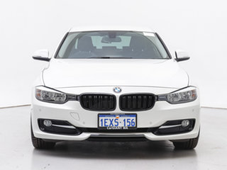 2012 BMW 320d F30 Sport Line White 8 Speed Automatic Sedan.