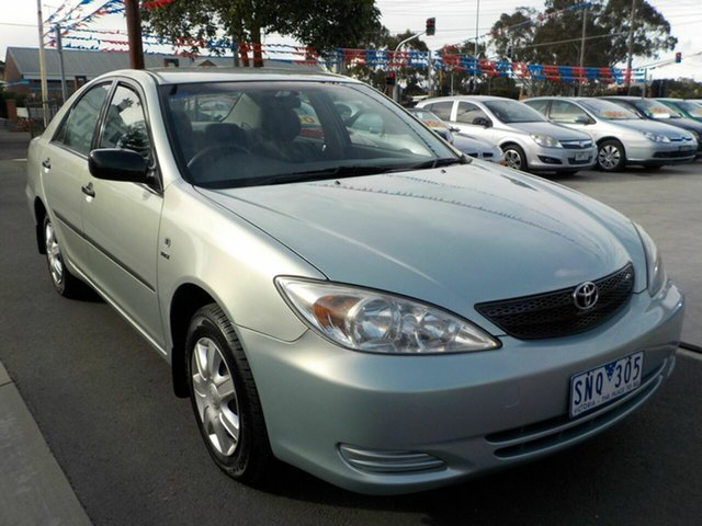 Used Toyota Camry ACV36R Altise Newtown, 2003 Toyota Camry ACV36R Altise Green 4 Speed Automatic Sedan