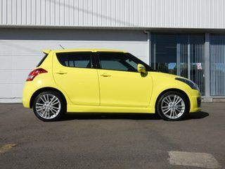 2013 Suzuki Swift FZ Sport Yellow 7 Speed Constant Variable Hatchback