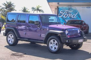 2017 Jeep Wrangler JK MY17 Unlimited Sport Purple 5 Speed Automatic Softtop