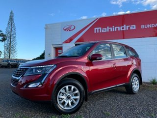 2021 Mahindra XUV500 WE10 (AWD) Crimson Red 6 Speed Automatic Wagon.