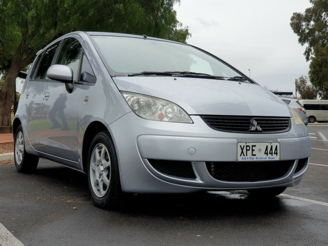 Used Mitsubishi Colt RG MY07 ES, 2007 Mitsubishi Colt RG MY07 ES Silver 1 Speed Constant Variable Hatchback
