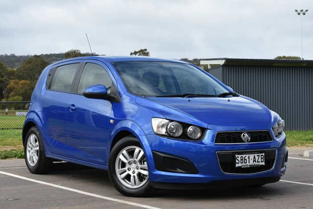 Used Holden Barina TM , 2012 Holden Barina TM Blue 5 Speed Manual Hatchback