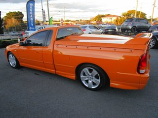 2007 Ford Falcon BF Mk II XR8 Ute Super Cab Orange 6 Speed Manual Utility.