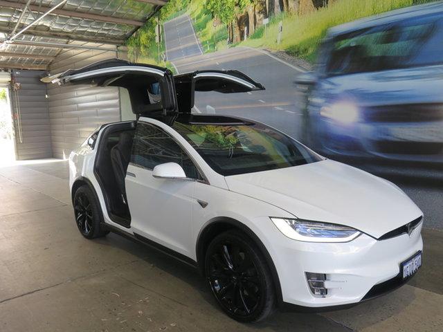 Used Tesla Model X  100D (100XB), 2017 Tesla Model X 100D (100XB) White 1 Speed Automatic Wagon