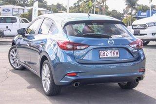 2015 Mazda 3 BM5436 SP25 SKYACTIV-MT Blue 6 Speed Manual Hatchback.
