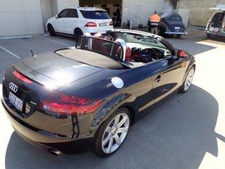 2009 Audi TT 8J MY10 S Tronic Quattro Black Magic 6 Speed Sports Automatic Dual Clutch Roadster