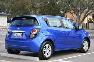 2012 Holden Barina TM Blue 5 Speed Manual Hatchback.