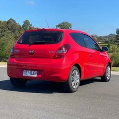 2011 Hyundai i20 PB MY11 Active Red 5 Speed Manual Hatchback