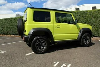 2020 Suzuki Jimny JB74 Yellow 5 Speed Manual Hardtop