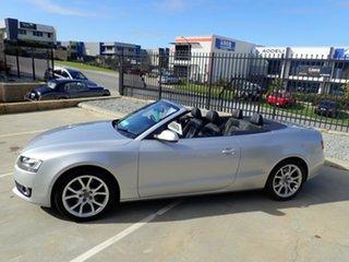 2009 Audi A5 8T MY10 S Tronic Quattro Grey Metallic 7 Speed Sports Automatic Dual Clutch Cabriolet
