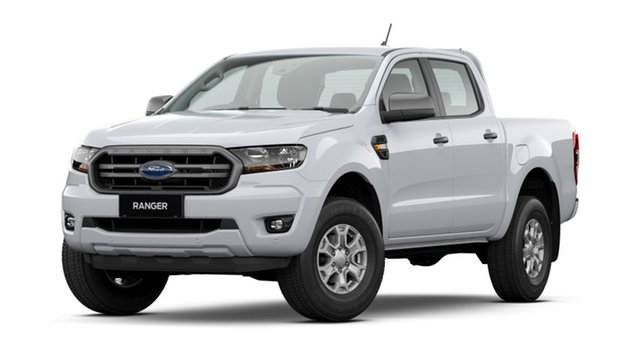New Ford Ranger PX MkIII 2021.25MY XLS Homebush, 2021 Ford Ranger PX MkIII 2021.25MY XLS Arctic White 6 Speed Sports Automatic Double Cab Pick Up