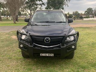 2017 Mazda BT-50 UR0YG1 XT Deep Crystal Blue 6 Speed Sports Automatic Cab Chassis.