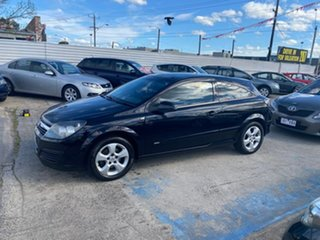 2006 Holden Astra AH MY06 CDX Black 5 Speed Manual Coupe.