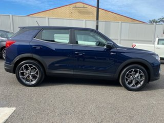 2019 Ssangyong Korando C300 MY20 ELX 2WD Blue 6 Speed Sports Automatic Wagon.