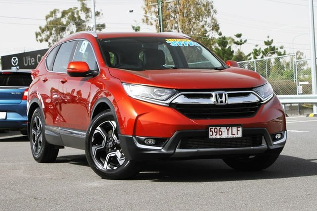 Used Honda CR-V RW MY19 VTi-L FWD, 2018 Honda CR-V RW MY19 VTi-L FWD Red 1 Speed Constant Variable Wagon
