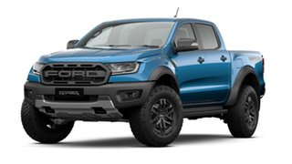 2021 Ford Ranger PX MkIII 2021.25MY Raptor Blue 10 Speed Sports Automatic Double Cab Pick Up.