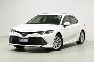 2019 Toyota Camry AXVH71R MY19 Ascent (Hybrid) White Continuous Variable Sedan.