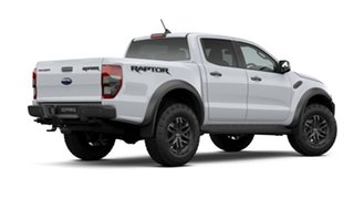 2020 Ford Ranger PX MkIII 2020.75MY Raptor White 10 Speed Sports Automatic Double Cab Pick Up