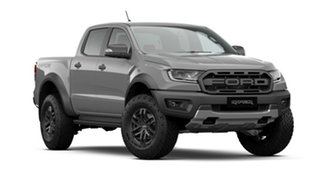 2020 Ford Ranger PX MkIII 2020.75MY Raptor Conquer Grey 10 Speed Sports Automatic Double Cab Pick Up