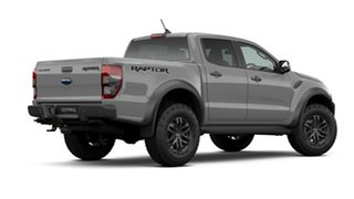 2020 Ford Ranger PX MkIII 2021.25MY Raptor Conquer Grey 10 Speed Sports Automatic Double Cab Pick Up