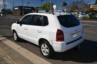 2009 Hyundai Tucson 08 Upgrade City SX White 4 Speed Automatic Wagon