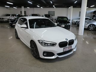 2017 BMW 1 Series F20 LCI 125i M Sport White 8 Speed Sports Automatic Hatchback.