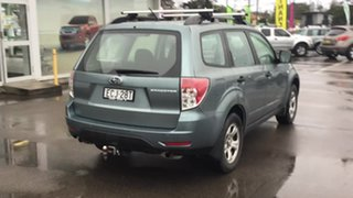 2010 Subaru Forester S3 MY10 X AWD Green 4 Speed Sports Automatic Wagon