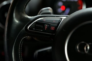 2015 Audi S3 8V MY15 S Tronic Quattro White 6 Speed Sports Automatic Dual Clutch Sedan