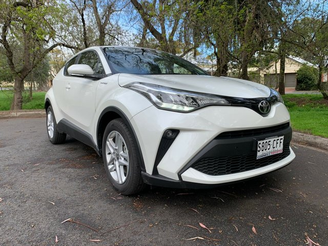 Demo Toyota C-HR NGX10R S-CVT 2WD, 2020 Toyota C-HR NGX10R S-CVT 2WD Crystal Pearl 7 Speed Constant Variable Wagon