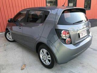 2014 Holden Barina TM MY15 CD Grey 6 Speed Automatic Hatchback.