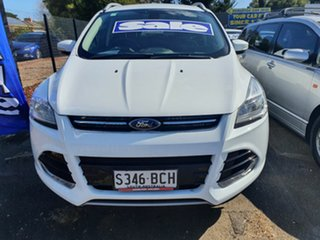 2014 Ford Kuga TF MY15 Trend AWD White 6 Speed Sports Automatic Wagon.