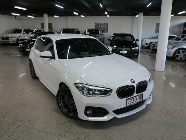 Used BMW 1 Series F20 LCI 125i M Sport, 2017 BMW 1 Series F20 LCI 125i M Sport White 8 Speed Sports Automatic Hatchback