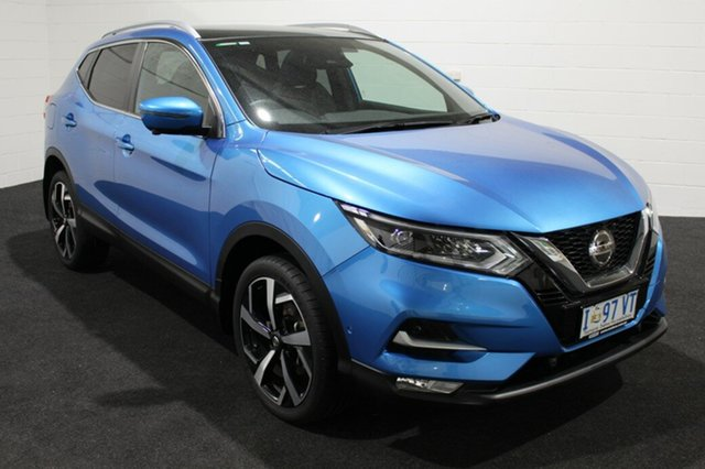 Used Nissan Qashqai J11 Series 2 Ti X-tronic, 2019 Nissan Qashqai J11 Series 2 Ti X-tronic Blue 1 Speed Constant Variable Wagon